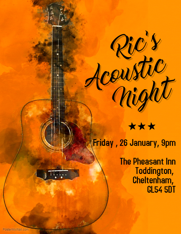 Ric's Acoustic night (2)